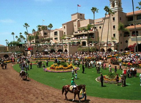 Del Mar Race Track Photo