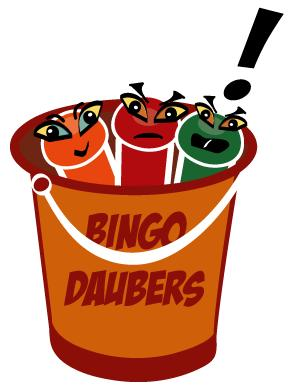 Bingo Bucket Card Clip Art
