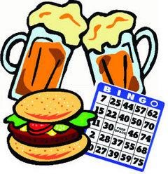 Bingo Meal Bingo Clip Art