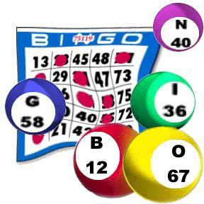 Bingo Card Balls Bingo Clip Art