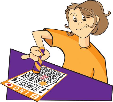Bingo Dauber Bingo Clip Art