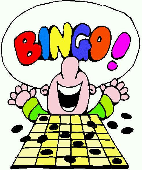 Smiley Bingo Bingo Clip Art