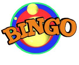 Bullseye Bingo Bingo Clip Art