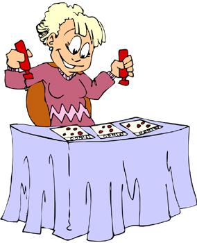 Double Bingo Bingo Clip Art