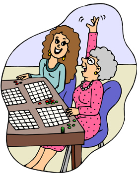 Family Bingo Bingo Clip Art